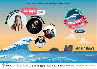 Picture of 23 Agosto 2018 - Bilhete Diário - Festival das Marés